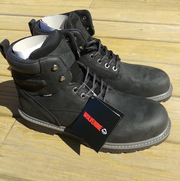 e51fe5ae027 NIB Wolverine Floorhand Boots Waterproof Steel Toe NWT